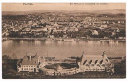 CPA : NAMUR - Le Kursaal Et Panorama De Jambes - Casino En Cours De Construction à Mon Avis - Namur