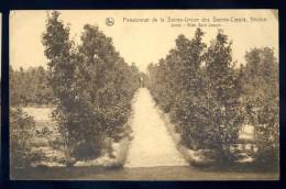 Cpa De Belgique Hainaut Néchin Pensionnat Sainte Union Sacrés Coeurs Jardins Allée St Joseph  LIOB20 - Belgique
