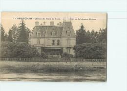 AUDINCOURT - Château Des Bords Du Doubs -  2 Scans - Non Classés