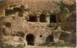Two-storeyed Cave House At Ananauri - Monastery Of The Caves - Vardzia - 1972 - Georgia USSR - Unused - Géorgie