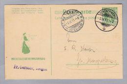 Schweiz Sonstiges Ganzsache 1911-04-03 5RpGS Mit Privatzudruck L'AMIDON REMY NE COLLE PAS - Non Classés