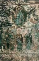Vardzia - Church Of Dormition - Fresco , The Ascension - Monastery Of The Caves - Vardzia - 1972 - Georgia USSR - Unused - Géorgie
