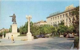 Lenin Square - Monument - Sumgait - 1970 - Azerbaijan USSR - Unused - Azerbaïjan