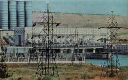 Mingechaur Power Station - Baku - 1970 - Azerbaijan USSR - Unused - Azerbaïjan