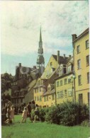 Meistaru Street - Riga - Old Town - 1977 - Latvia USSR - Unused - Lettonie