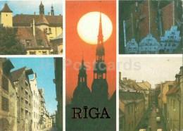 Historical Museum - Three Brothers Houses - Riga - Old Town - 1987 - Latvia USSR - Unused - Lettonie