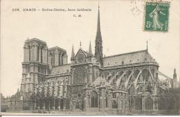 236.  PARIS - Notre-Dame, Face Latérale. (scan Verso) - Notre Dame Von Paris