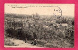 33 GIRONDE PAILLET, Vue Générale Et La Plaine De La Garonne, Animée, 1908,  (H. Guillier, Libourne) - France