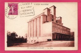 11 AUDE CASTELNAUDARY, Les Silos, 1936,  (Poux, Albi) - Castelnaudary