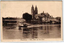 Magdeburg - Blick Auf Den Dom - Elbe - Magdeburg