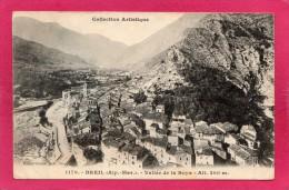 06 ALPES-MARITIMES BREIL, Vallée De La Roys, 1904,  (Giletta, Nice) - Breil-sur-Roya