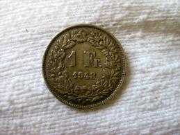 Switzerland: 1 Franc 1943 - Svizzera