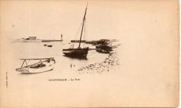 14. Ouistreham. Le Port. Coins émoussés - Ouistreham
