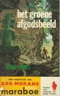 BOB MORANE - HET GROENE AFGODSBEELD / HENRI VERNES / MARABOE POCKETS GELE REEKS  G3 - Boeken, Tijdschriften, Stripverhalen