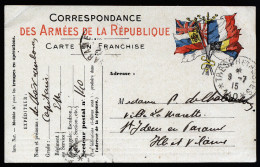 A3849) Frankreich France Feldpostkarte Von Tresor Et Postes 140 9.7.15 - Briefe U. Dokumente