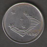 BRASILE 1 CRUZEIRO 1990 - Brasile