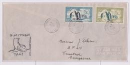 Taaf - Iles Australes - Saint Paul Et Amsterdam - Galliéni - PA 2-3 - PJ - Otarie - Covers & Documents
