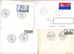Lot 4 Lettre Fdc - FDC