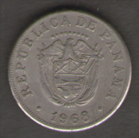 PANAMA 5 CENTESIMOS DE BALBOA 1968 - Panama