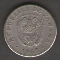 [NC] PANAMA 5 CENTESIMOS DE BALBOA 1968 (dc0003) - Panama