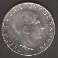 JUGOSLAVIA 50 DINARA 1938 AG SILVER - Jugoslavia