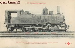 LES LOCOMOTIVES MACHINE TENDER TRAINS DE MARCHANDISES LOCOMOTIVE TRAIN ZUG TRENO LOCOMOTIVA FLEURY - Trains