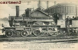 LES LOCOMOTIVES DE L'ETAT MACHINE LOCOMOTIVE TRAIN ZUG TRENO LOCOMOTIVA FLEURY - Trains