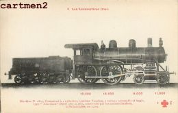 LES LOCOMOTIVES D'ETAT MACHINE COMPOUND VAUCLAIN LOCOMOTIVE TRAIN ZUG TRENO LOCOMOTIVA FLEURY - Trains