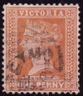 Etat De VICTORIA  1890-98 -  YT  102  - Orange Sur Rose - Oblitéré - Used Stamps