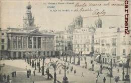 CADIZ PLAZA DE ISABEL II ESPANA 1900 - Cádiz