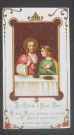 IMAGE PIEUSE BONAMY Pl 352 (chromo Vers 1920) L´EUCHARISTIE - LA DIVINE COMMUNION JESUS & SAINT JEAN / SANTINO / - Images Religieuses