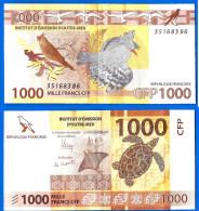 Polynesie France French Pacific Territories 1000 Francs 2014 Tahiti Nouvelle Caledonie Wallis Pacifique Skrill Ppal Btc - Papeete (Polynésie Française 1914-1985)