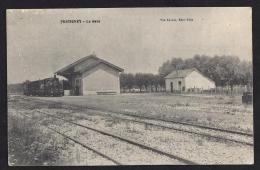 CPA 70  Fretigney La Gare Et Le Train Tramway Ligne De Gray Gy Grandvelle - Autres Communes