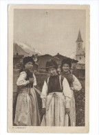 Im Lötschental Costumes Trachten - VS Valais