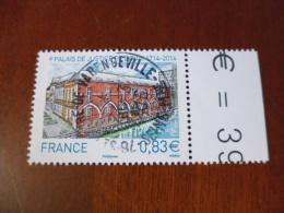 OBLITERATION RONDE  SUR TIMBRE GOMME ORIGINE YVERT N°4902 - France