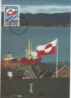 Greenland   View  Of Port Asasiat.  # 04994 - Greenland