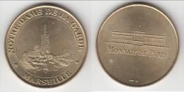 **** 13 - MARSEILLE - NOTRE DAME DE LA GARDE 1998 - NON DATEE - MONNAIE DE PARIS **** EN ACHAT IMMEDIAT !!! - Monnaie De Paris