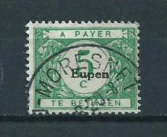 Eupen/Belgium Portzegel 5 Cent Used/gebruikt/oblitere - Taxes