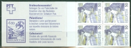 Switserland 1988  Booklet Pane. Postal Transport MNH** - Lot. 4565 - Carnet