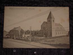 Cpa Belgique (Hainaut) - Eglise Ste Marie à Chatelineau (Corbeau) Pélerinage à St. Hilaire Le 1er Dimanche De Mai - Châtelet