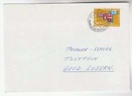 1967 SWITZERLAND Stamps COVER  Pmk WORLD HEALTH ORGANISATION Organisation Mondiale De La Sante WHO To GB - WHO