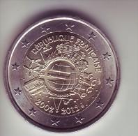 Francia - 2 Euro Commemorativo 2012 - Anniversario Euro - Francia