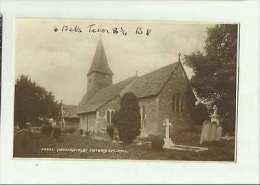 Newdigate St Peters Church Vintage RP Postcard 0646 - Surrey