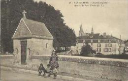 4804 CPA Bar Sur Aube - Chapelle Expiatoire Sise Sur Le Pont D'Aube - Bar-sur-Aube