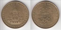 **** 75018 - PARIS - MONTMARTRE - BASILIQUE DU SACRE-COEUR  2000 - MONNAIE DE PARIS **** EN ACHAT IMMEDIAT !!! - Monnaie De Paris