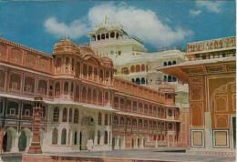 JAIPUR    CITY  PALACE        (VIAGGIATA) - India