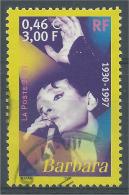 France, Barbara, French Singer, 2001, VFU - France