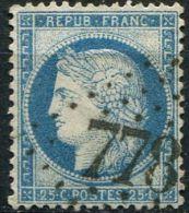Gironde, GC 778 Sur N° 60 Y Et T - 1849-1876: Periodo Classico