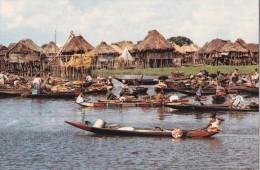 Carte 1970 CITE LACUSTRE DE GANVIE (marché Sur L'eau ?) - Benin