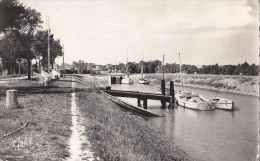 Meschers 17 - Port - Ponton Voiliers 1959